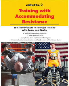 Training with Accommodating Resistance (eBook)