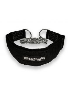 EliteFTS Black Nylon Dip Belt