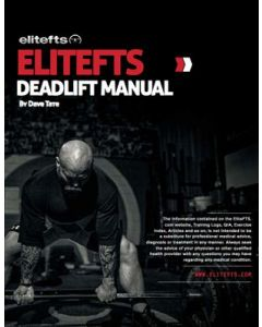 elitefts™ Deadlift Manual (eBook)
