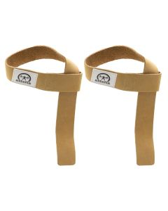 elitefts™ Leather Wrist Straps 1.5