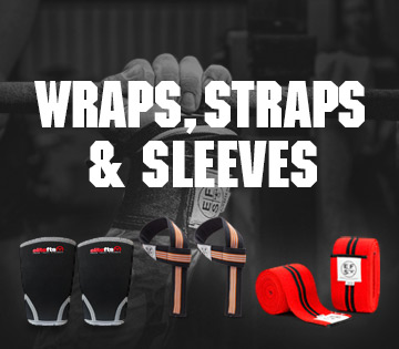 wraps, straps, sleeves